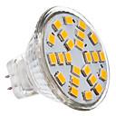 hesapli LED Spot Işıkları-2700 lm GU4(MR11) LED Spot Işıkları MR11 24 LED Boncuklar SMD 2835 Sıcak Beyaz 12 V