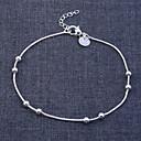 abordables Bracelets-Femme Chaînes & Bracelets - Bracelet Argent Pour Regalos de Navidad Mariage