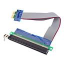 baratos Terminais e Conectores-cabo de extensão de cartão riser 1x-16x risível de alta qualidade (0.15m)