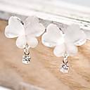 preiswerte Ohrringe-Damen Synthetischer Diamant Tropfen-Ohrringe - Strass Schmetterling, Tier Einzigartiges Design, Simple Style Weiß Für Party / Alltag