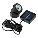 hesapli LED Yer Işıkları-1pc Güneş Enerjisi Su Geçirmez Yıldırım