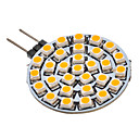 cheap LED Corn Lights-SENCART 1pc 3 W 90-110 lm G4 LED Spotlight 30 LED Beads SMD 3528 Warm White 12 V