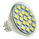 hesapli LED Spot Işıkları-SENCART 165-180lm LED Spot Işıkları 21 LED Boncuklar SMD 5050 Serin Beyaz
