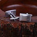 hesapli Kişiye Özel Giyim Aksesuarları-Kişiselleştirilmiş Hediye Spinki do mankietów Paslanmaz Çelik Unisex Klasik Hediye