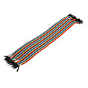 cheap Phone Cables & Adapters-40Pin 1P-1P Male to Male Dupont Line Colorful Dupont Wire(30CM)