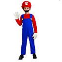 ieftine Costume Hallowen-Super eroi Costume Cosplay Costume petrecere Pentru copii Halloween Carnaval Festival / Sărbătoare Poliester Costume de Carnaval Peteci