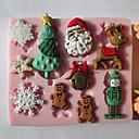 hesapli Fırın Araçları ve Gereçleri-Bakeware araçları Silikon Çevre-dostu Kek / Kurabiye / Çikolota Pasta Kalıpları 1pc