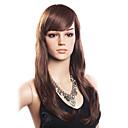 hesapli Makyaj ve Tırnak Bakımı-Sentetik Saç Bonesiz Peruk Dalgalı Peruk Bantlı Yan Parti Kadın's Uzun Sentetik Peruklar