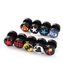 cheap Earrings-Men's Stud Earrings - Stainless Steel Star For Christmas Gifts / Wedding / Party