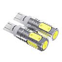 ieftine Lumini de Interior Mașină-T10 7.5W LED-uri pentru masina Reverse Light (2 buc)