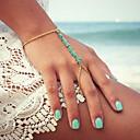 ieftine Brățări-Pentru femei Brățări cu Talismane Ring Bracelets Vărsătorul Sclavii de aur femei Design Unic Modă Reșină Bijuterii brățară Auriu Pentru Petrecere Zilnic Casual