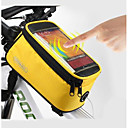 hesapli Bisiklet Çantaları-ROSWHEEL Cep Telefonu Çanta / Bisiklet Çerçeve Çantaları 5.5 inç Dokunmatik Ekran, Su Geçirmez Bisiklet için Samsung Galaxy S6 / LG G3 / Samsung Galaxy S4 Mavi / Siyah / iPhone 8/7/6S/6