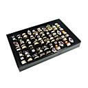 ieftine Împachetare Bijuterii & Ecrane-Cutii de Bijuterii Teracotă Flanelă Hârtie Geometric Shape Negru Alb