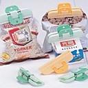preiswerte Küche & Aufbewahren-2 stücke kunststoff starke lebensmittel tasche clip frische snack lebensmittel aufbewahrungsbeutel sealer