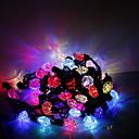hesapli LED Şerit Işıklar-5m 50 led yılbaşı cadılar bayramı dekoratif ışıklar şenlikli şerit ışıklar-kalpleri ve oklar (220v)