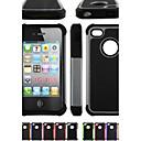 hesapli iPhone Kılıfları-Pouzdro Uyumluluk iPhone 4/4S Apple Tam Kaplama Kılıf Yumuşak Silikon için iPhone 4s/4