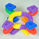 رخيصةأون أقراط-الحماية البيئية للأطفال غير سام البلاستيك تجميعها بناء كتل رائعة