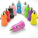olcso Autós töltők-Autós töltő USB töltő 1 USB port 1 A DC 12V-24V mert