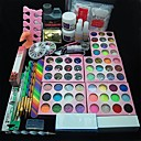 preiswerte Make-up & Nagelpflege-108 Stück Acryl-Pulver Glitzerkleber Nagelkunstwerkzeug-Set