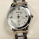 preiswerte Damenuhren-Damen Armbanduhren für den Alltag Quartz Legierung Band Analog Silber - Weiß Schwarz