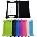 Χαμηλού Κόστους Θήκες Tablet-tok Για Κάλυμμα πίσω μέρους Προφυλακτήρας Πλήρης Θήκη Συμπαγές Χρώμα Σκληρή PU δέρμα για