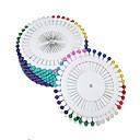 abordables Accesorios para Álbums de Fotos-colorido pin perla (40pcs x 12)