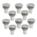 cheap Grow Lights-10pcs 4 W 350-400 lm GU10 LED Spotlight 4 LED Beads High Power LED Warm White / Cold White / Natural White 85-265 V / 10 pcs / RoHS