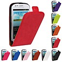 cheap Accessories For GoPro-Case For Samsung Galaxy Samsung Galaxy Case Flip Full Body Cases Solid Colored PU Leather for S3 Mini