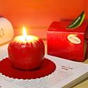 ieftine Cadouri-Red Apple lumânare cadou de Crăciun