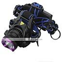 hesapli Fenerler-Kafa Lambaları Far LED 1800 lm 3 Kip LED Piller ve Şarj Aletleri ile Şarj Edilebilir Su Geçirmez Kamp/Yürüyüş/Mağaracılık Günlük Kullanım