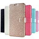 baratos Conjuntos de Bijuteria-Capinha Para Samsung Galaxy Samsung Galaxy Note Porta-Cartão Com Suporte Flip Capa Proteção Completa Côr Sólida PU Leather para Note 4