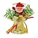 billige Instrumenter og tilbehør-santa claus ringetone klokke vedhæng juletræ ornament