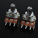 ieftine Accesorii-3-pini potențiometru de volum b20k pentru chitara / bas (2 buc)