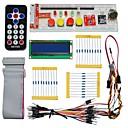 رخيصةأون النماذج-كييس قطع الغيار الإلكترونية حزمة لبي التوت (جهاز التحكم عن بعد أسود)