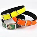 preiswerte Hundehalsbänder, Geschirre & Leinen-Hunde Halsbänder Regolabile/Einziehbar Gelb / Orange PU Leder