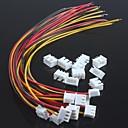 abordables Résistances-xh2.54-3p seul fil de la tête avec des bornes de fil (10pcs)