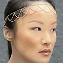 hesapli Kolyeler-Kadın's madeni Kişiselleştirilmiş Püskül Temel alaşım Saç Bandı