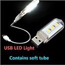 ieftine Lumini & Gadget-uri LED-1 buc LED-uri de lumină de noapte Lampă LED De Citit USD Decorativ 220V