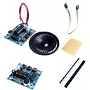 Недорогие Модули-isd1820 аудио модуль записи звука ж / микрофон / динамик и аксессуары для Arduino