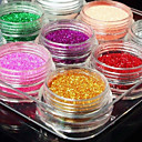 cheap Makeup & Nail Care-12 pcs Glitter & Poudre / Powder Abstract / Classic / Wedding Daily