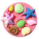 hesapli Fırın Araçları ve Gereçleri-Bakeware araçları Plastik Kendin-Yap Kek Yuvarlak Pasta Kalıpları 1pc