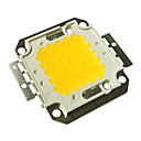 abordables LED à Double Broches-jiawen® 50w 3000k 4000-4500lm blanc chaud led puce (dc 30-33v)