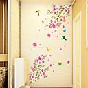 Χαμηλού Κόστους Προμήθειες Καθαρισμού Ενυδρείου-Άνθη Κινούμενα σχέδια Αυτοκολλητα ΤΟΙΧΟΥ Αεροπλάνα Αυτοκόλλητα Τοίχου Διακοσμητικά αυτοκόλλητα τοίχου, PVC Αρχική Διακόσμηση Wall Decal