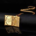preiswerte Charms & Anhänger-Damen Anhängerketten / Medaillon Halskette - 18K vergoldet, vergoldet damas, Modisch Modische Halsketten Schmuck Für Hochzeit