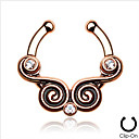 Buy Body Piercing Jewellery Fashion Stainless Steel Crystal Nose Ring Jewelry