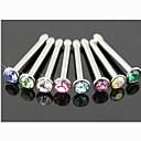 Mujer Joyería Corporal Piercings para nariz Piercing de naríz Diseño Único Moda joyería de disfraz Cristal Diamante Sintético Joyas Joyas