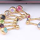 Χαμηλού Κόστους Κοσμήματα σώματος-Κρυστάλλινο Δαχτυλίδι / Δακτύλιος της κοιλιάς - Κρύσταλλο Γυναικεία Κοσμήματα Σώματος Για Καθημερινά / Causal