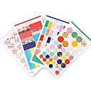preiswerte Spiel Sets für Kinder-Schüttelfrost Punktstreifen diy Aufkleber (4 Stück)