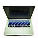 """hesapli Mac Klavye Kılıfları-""""/13.3"""" /15.4 """"/ 17"""" mac macbook air pro / retina 11.6 için coosbo® fransız azerty renkli silikon klavye kapağı cilt"""