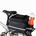 hesapli Kamp Araçları-8 L Bisiklet Arka Çantaları / Bisiklet Tekerleği Sepetleri / Omuz çantası / Bisiklet Arka Çantaları Kompakt, Çok Fonksiyonlu Bisiklet Çantası Tuval Bisikletçi Çantası Bisiklet Çantası Kamp & Yürüy